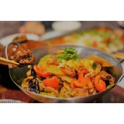 蝦排骨干鍋(僅限紐約皇后區 堂吃&外賣)